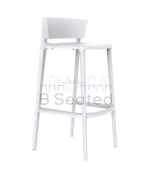 Africa Outdoor Stool White