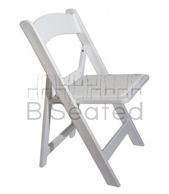 Resin Event Folding Chair | Front