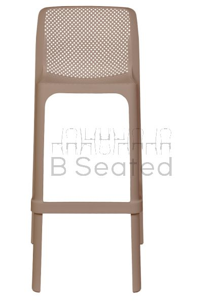 Net Outdoor Stool Taupe